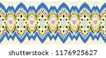 ikat geometric folklore... | Shutterstock .eps vector #1176925627