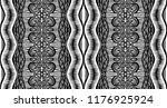 tribal vector ornament.... | Shutterstock .eps vector #1176925924