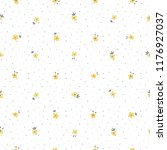 cute floral pattern of small... | Shutterstock .eps vector #1176927037