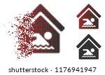indoor water pool icon in...   Shutterstock .eps vector #1176941947