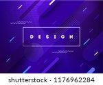 liquid color background design. ... | Shutterstock .eps vector #1176962284