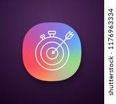smart goal app icon. ui ux user ...