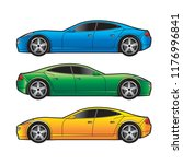isolated car variation isolated ... | Shutterstock .eps vector #1176996841