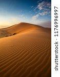 Red Desert Sands. In Saudi...