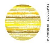 ragged circle vector geometric... | Shutterstock .eps vector #1177023451
