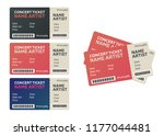 blank concert performance... | Shutterstock . vector #1177044481