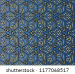 seamless horizontal borders...   Shutterstock . vector #1177068517
