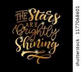 vector holidays lettering. the... | Shutterstock .eps vector #1177068601