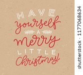 vector holidays lettering. have ... | Shutterstock .eps vector #1177068634