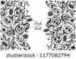 vector illustration  halloween  ...   Shutterstock .eps vector #1177082794