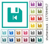 file previous flat color icons... | Shutterstock .eps vector #1177094917