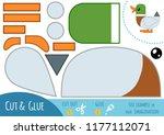 education paper game for... | Shutterstock .eps vector #1177112071