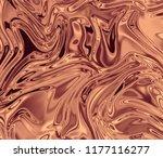 gold bronze sparkle glossy foil ... | Shutterstock .eps vector #1177116277