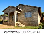 a house in a south african...   Shutterstock . vector #1177133161