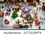 lego collections exhibition at...   Shutterstock . vector #1177133974