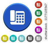 office phone round color...   Shutterstock .eps vector #1177135567