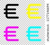 euro symbol  simple icon....