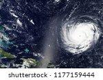 hurricane florence heading... | Shutterstock . vector #1177159444