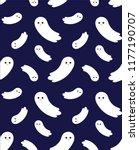 seamless pattern cute vector...   Shutterstock .eps vector #1177190707