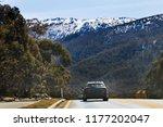 passenger tourist cars on... | Shutterstock . vector #1177202047