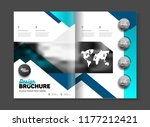 business brochure design vector ... | Shutterstock .eps vector #1177212421