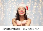 christmas and holidays concept  ... | Shutterstock . vector #1177213714