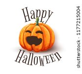 vector illustration of pumpkin...   Shutterstock .eps vector #1177215004