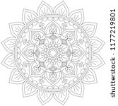 Mandala Coloring Outline