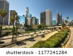 cityscape downtown view over... | Shutterstock . vector #1177241284