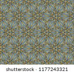 seamless horizontal borders... | Shutterstock . vector #1177243321