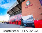 liverpool  uk   may 17 2018 ... | Shutterstock . vector #1177254361