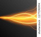 lighting electric thunder storm ... | Shutterstock .eps vector #1177290994