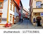 entrance to merchants' bridge a ... | Shutterstock . vector #1177315801
