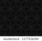 abstract seamless geometries... | Shutterstock .eps vector #1177316104