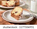 a slice of groumet cranberry... | Shutterstock . vector #1177336951