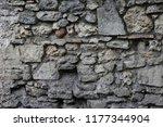 close up outdoor view of part... | Shutterstock . vector #1177344904