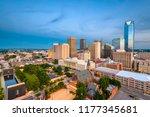 oklahoma city  oklahoma  usa... | Shutterstock . vector #1177345681