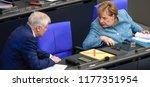 berlin  germany  2018 09 11 ... | Shutterstock . vector #1177351954