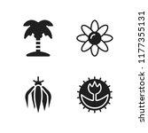 flora icon. 4 flora vector...   Shutterstock .eps vector #1177355131