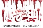 blood collection  happy... | Shutterstock .eps vector #1177362814