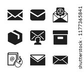 send icon. 9 send vector icons...   Shutterstock .eps vector #1177365841