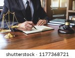 legal law  advice and justice... | Shutterstock . vector #1177368721