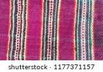 colorful  purple rug  bulgarian ... | Shutterstock . vector #1177371157