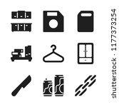 storage icon. 9 storage vector... | Shutterstock .eps vector #1177373254