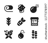 aromatherapy icon. 9... | Shutterstock .eps vector #1177378597
