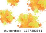 abstract creative watercolor... | Shutterstock .eps vector #1177383961