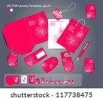 vector corporate design for... | Shutterstock .eps vector #117738475
