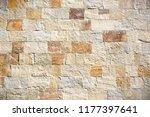 stone background  blocks wall...   Shutterstock . vector #1177397641