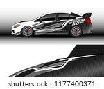 car wrap graphic vector....   Shutterstock .eps vector #1177400371