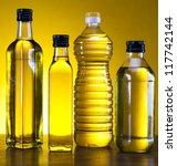 olive oil bottles   Shutterstock . vector #117742144